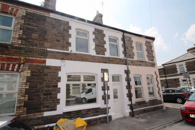 Thumbnail Terraced house for sale in May Street, Cathays, Cardiff
