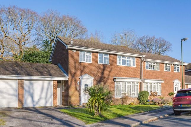 Thumbnail Detached house for sale in Dickins Way, Horsham, West Sussex