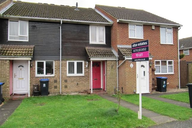Thumbnail Terraced house to rent in Leas Drive, Iver, Buckinghamshire