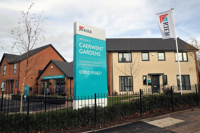 Thumbnail Detached house for sale in Off Caerleon Road, Dinas Powys Cardiff
