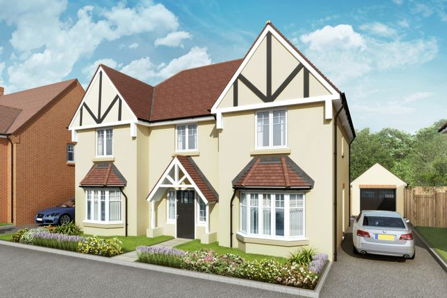 """Thumbnail Detached house for sale in """"The Highclere"""" at Grange Road, Chalfont St. Peter, Gerrards Cross"""