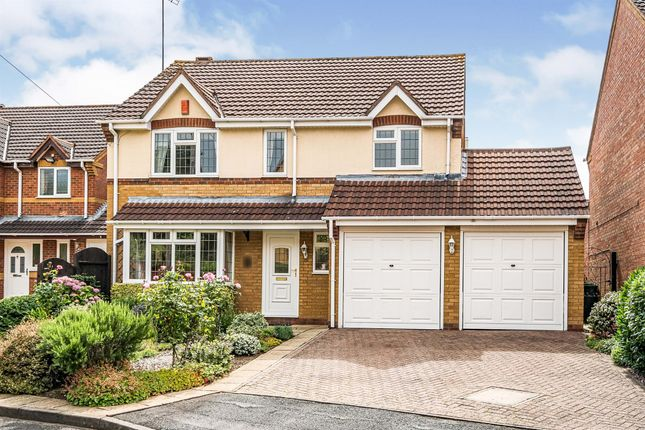 Thumbnail Detached house for sale in Bedworth Croft, Tipton