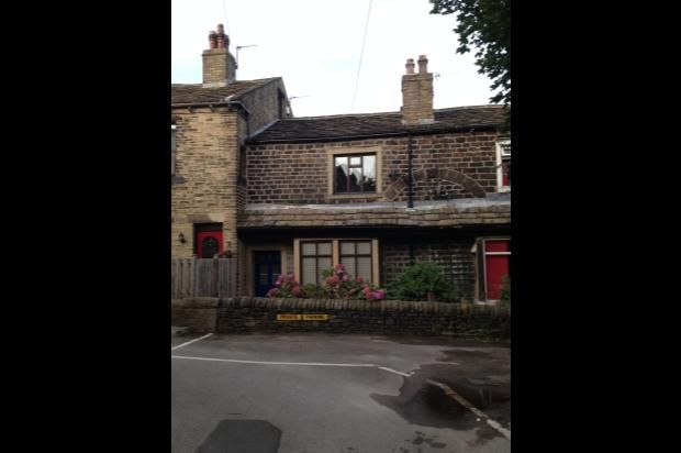 Thumbnail Cottage to rent in Wade House Road, Shelf