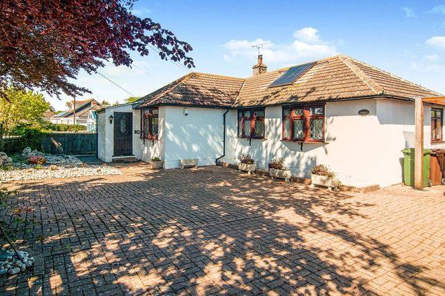 Thumbnail Bungalow for sale in Sea Road, Winchelsea Beach, Winchelsea