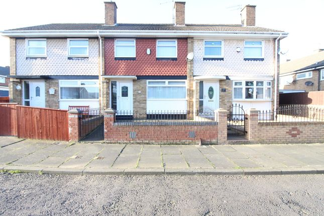 Thumbnail Terraced house to rent in Cadwell Close, Middlesbrough