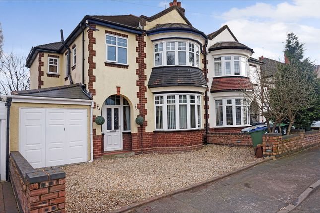 Thumbnail Semi-detached house for sale in Charlemont Crescent, West Bromwich
