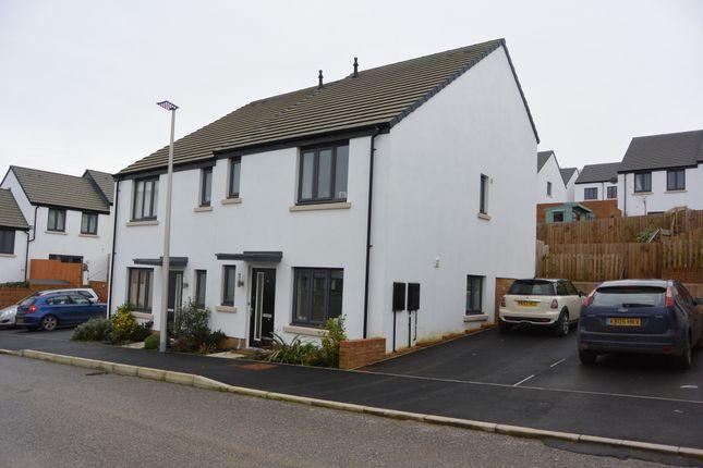 Thumbnail Semi-detached house to rent in Little Marsh Road, Okehampton