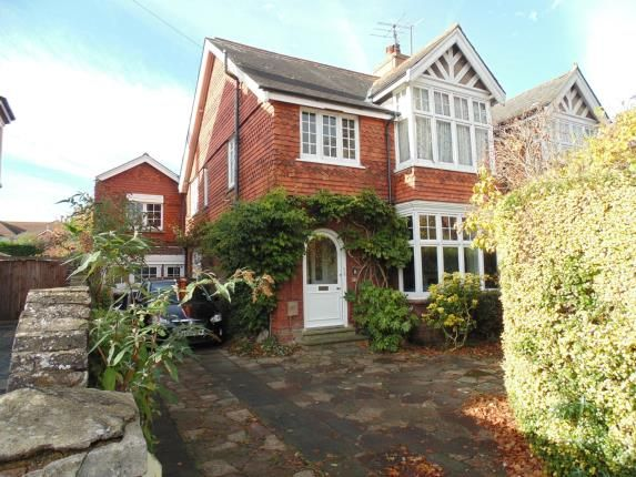 Thumbnail Semi-detached house for sale in Heene Road, Worthing, West Sussex