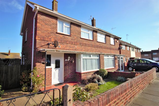 Thumbnail Semi-detached house to rent in Wharfedale Road, Margate