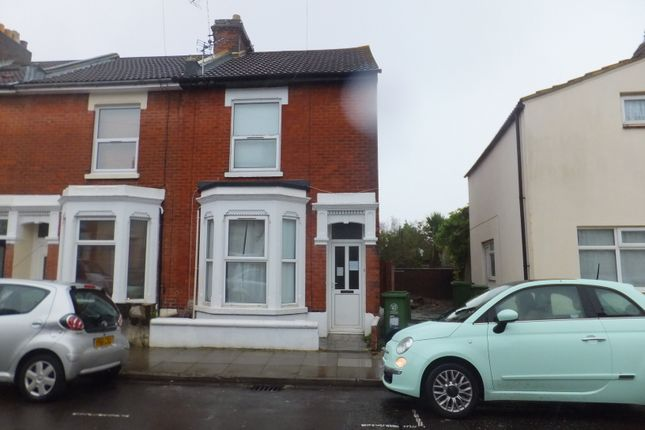 Thumbnail End terrace house to rent in Talbot Road, Southsea