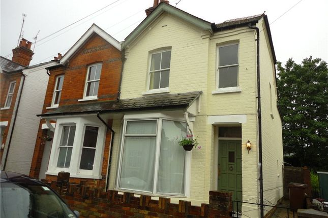 Thumbnail Semi-detached house to rent in Barossa Road, Camberley, Surrey