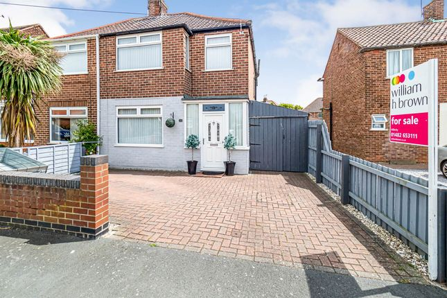 Thumbnail Semi-detached house for sale in Spring Gardens, Anlaby Common, Hull
