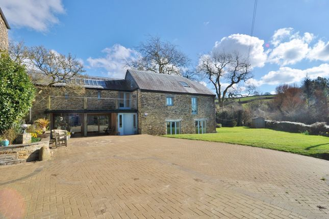 Thumbnail Barn conversion for sale in Ludbrook, Nr Ermington, South Devon