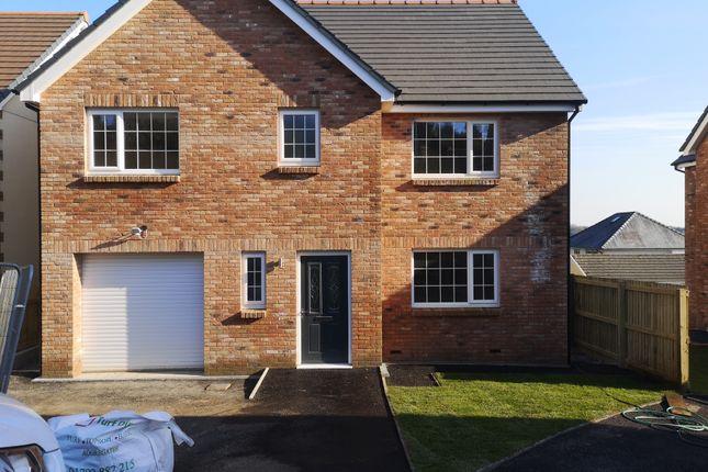 Thumbnail Detached house for sale in Clos Y Gat, Gorslas, Llanelli