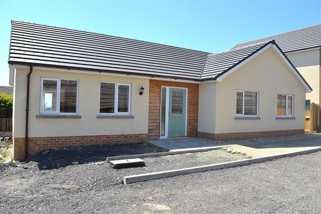 Thumbnail Detached bungalow for sale in Ffordd Werdd, Gorslas, Llanelli