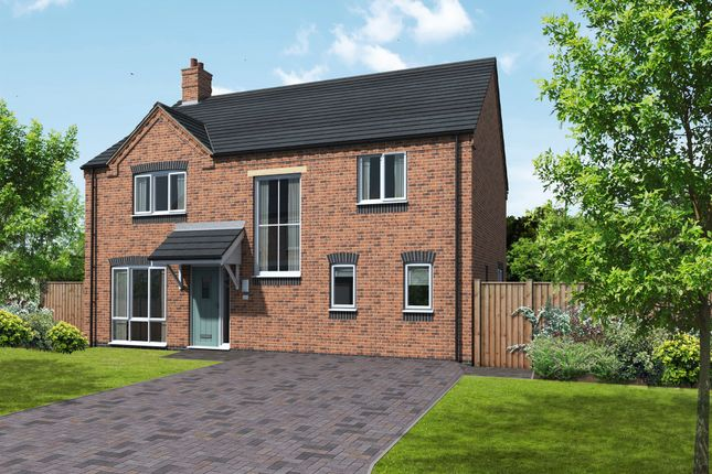Thumbnail Detached house for sale in Ashby, Coton Road, Rosliston, Swadlincote