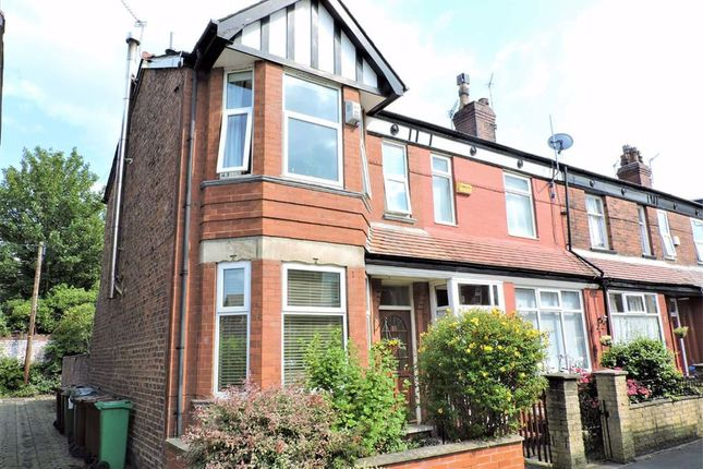Thumbnail End terrace house for sale in Fairbourne Road, Levenshulme, Manchester