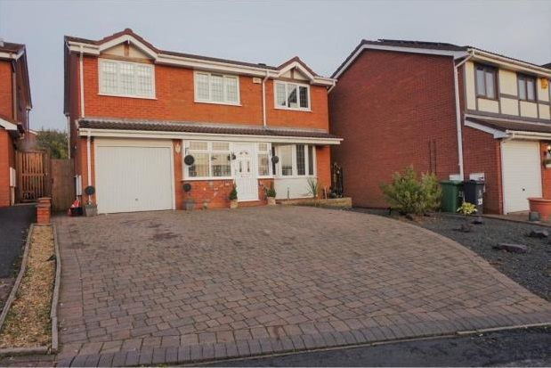 Thumbnail Detached house to rent in Swallowdale, Walsall Wood, Walsall