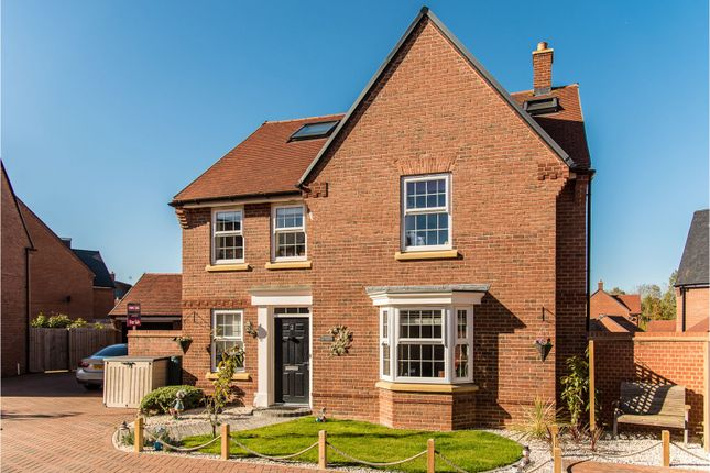 Thumbnail Detached house for sale in Butterfly Close, Buckingham