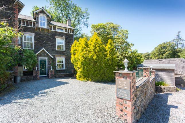 Thumbnail Semi-detached house for sale in Moss Cottage, Secret Nook & Building Plot, Rose Cottage Lane, Windermere