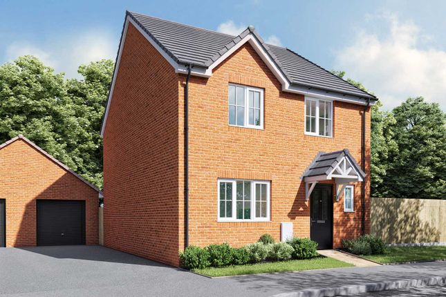 "Thumbnail Detached house for sale in ""The Mylne"" at Thorney Green Road, Stowupland, Stowmarket"