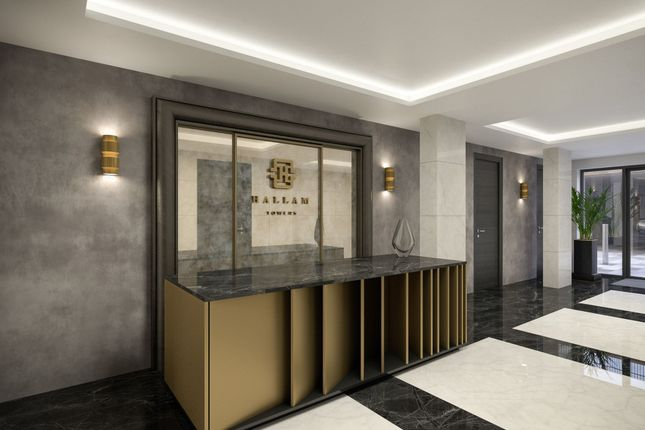 Thumbnail Flat for sale in Apartment 1205 Hallam Towers, Ranmoor