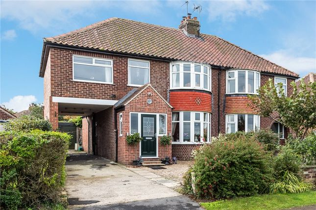 Thumbnail Semi-detached house for sale in New Lane, Green Hammerton, York, North Yorkshire