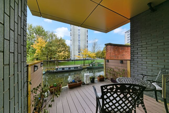Balcony of Amberley Waterfront, Amberley Road, Maida Vale W9