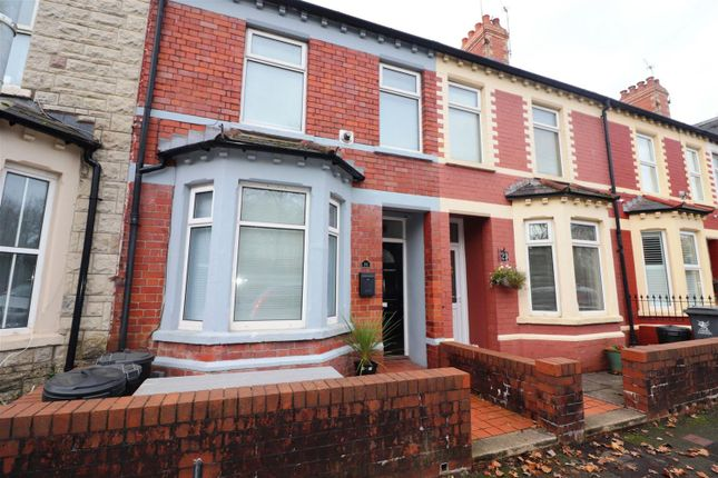 Thumbnail Terraced house for sale in Blackweir Terrace, Cathays, Cardiff