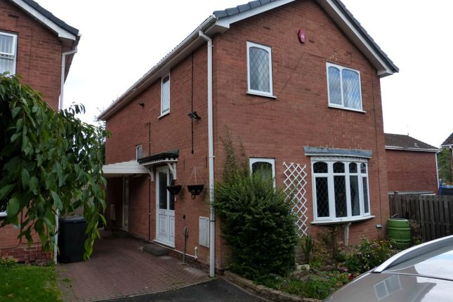 Thumbnail Detached house to rent in Painswick Close, Redditch