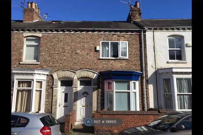 Thumbnail Terraced house to rent in Milton Street, York
