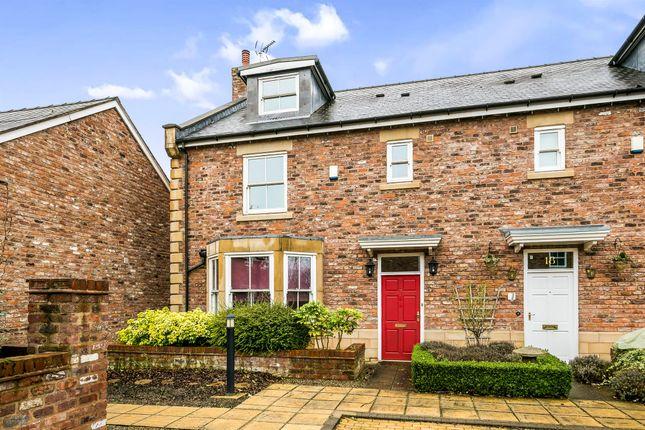 Thumbnail Town house for sale in Strathalyn, Rossett, Wrexham