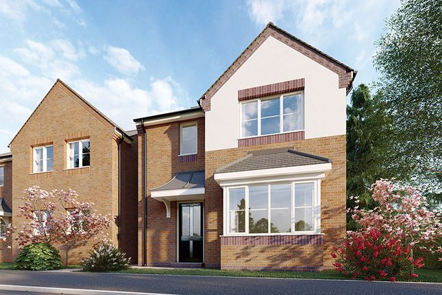 4 bed detached house for sale in Plot 1, Scarsdale Green, Bolsover S44