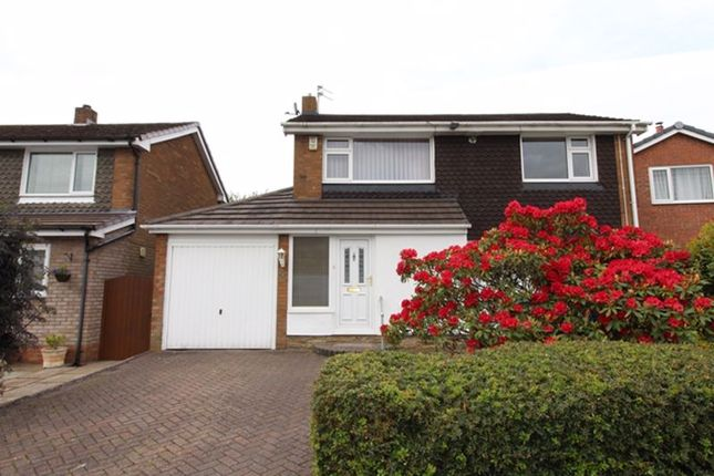 Thumbnail Detached house to rent in Salthouse Close, Brandlesholme, Bury
