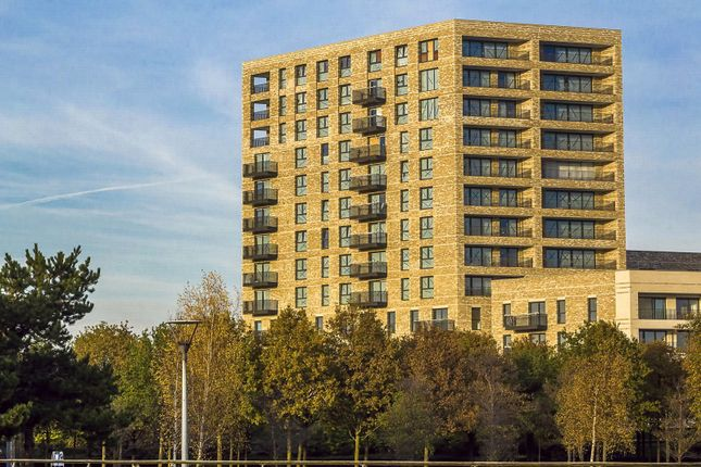 Thumbnail Flat to rent in Kingfisher Heights, Waterside Park, 2 Bramwell Way, London