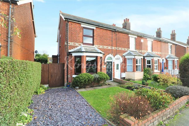 Thumbnail End terrace house for sale in Pax Terrace, Brantham Hill, Brantham, Manningtree