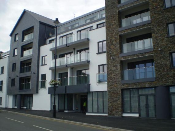 Thumbnail Flat to rent in Quay West, Bridge Road, Douglas