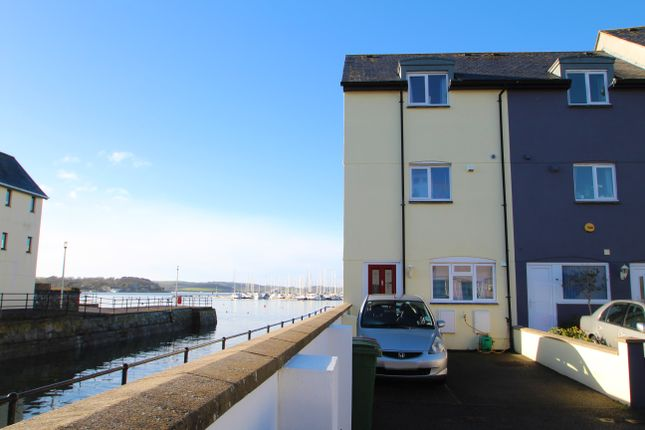 Thumbnail End terrace house for sale in Telegraph Wharf, Stonehouse, Plymouth