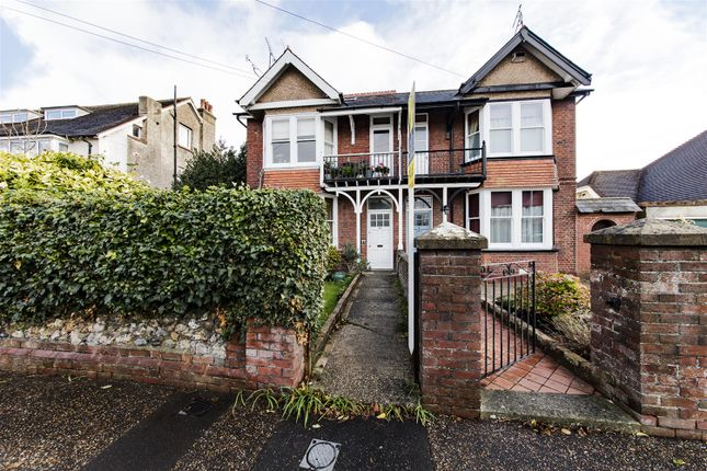 Thumbnail Flat for sale in Grove Road, Worthing, West Sussex