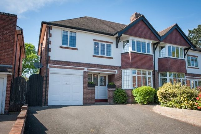 Thumbnail Semi-detached house for sale in Station Road, Wylde Green, Sutton Coldfield