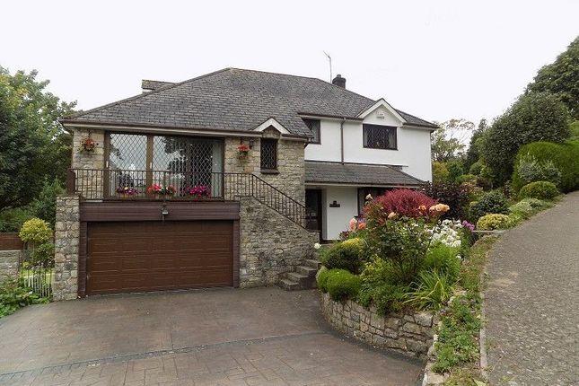 Thumbnail Detached house for sale in Coed Parc Court, Bridgend
