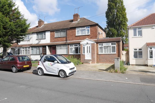Thumbnail Semi-detached house to rent in Coronation Road, Hayes