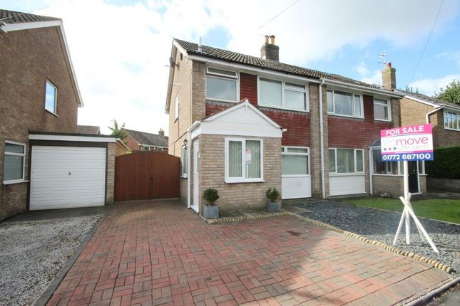 Thumbnail Semi-detached house for sale in Hornby Drive, Newton, Preston, Lancashire