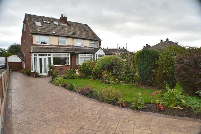 Thumbnail Semi-detached house for sale in Bradwen Close, Denton, Manchester