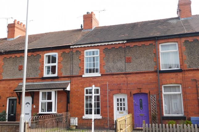 Thumbnail Terraced house to rent in Millstone Lane, Nantwich