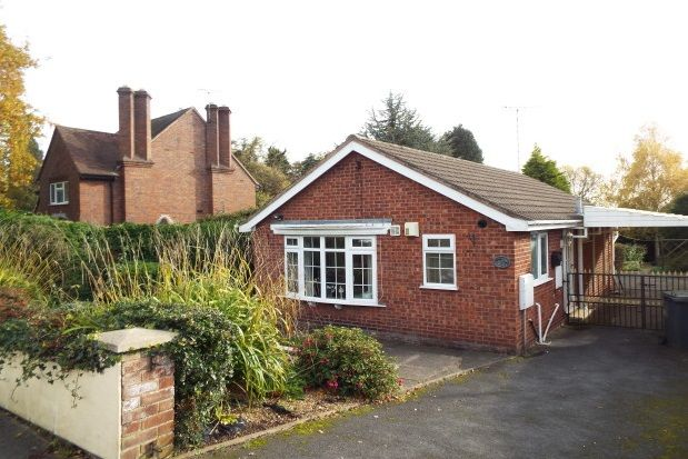 Bungalow to rent in Holly Road, Uttoxeter