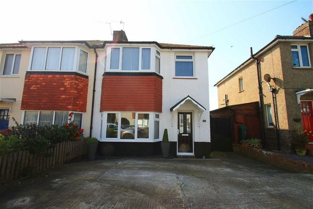 Thumbnail Semi-detached house for sale in Hythe Avenue, St Leonards-On-Sea, East Sussex