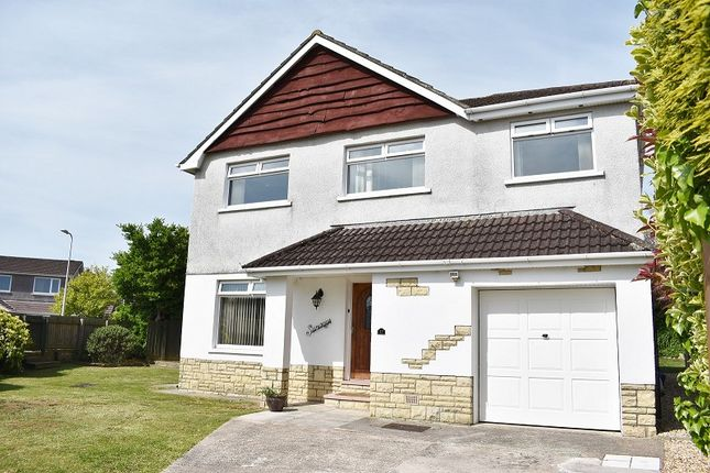 Thumbnail Detached house for sale in Sunways, Bryntirion Close, Bridgend.