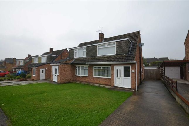 Thumbnail Semi-detached house for sale in Fairburn Drive, Leeds, West Yorkshire