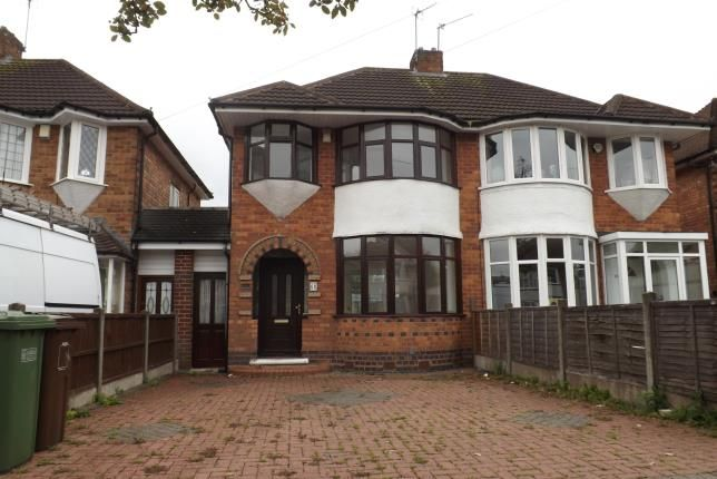 Thumbnail Semi-detached house for sale in Wellsford Avenue, Solihull, Birmingham, West Midlands